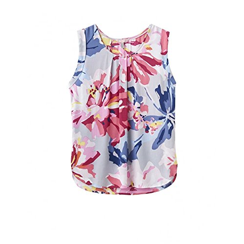 Top Alyse ladies Flattering Sleeveless Womens Shirt Printed Joules T EapfnZw8fq