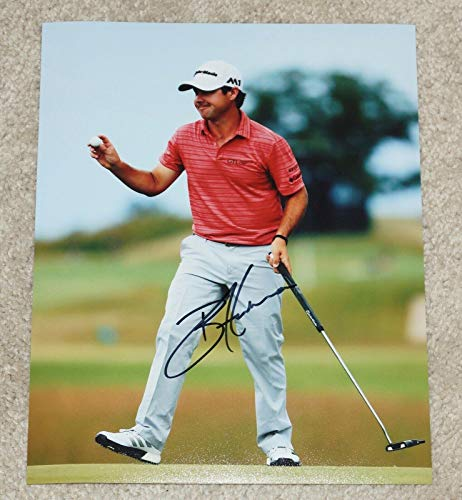 Brian Harman Autographed Photo - 8x10 Masters Augusta US Open Championship - Autographed Golf Photos
