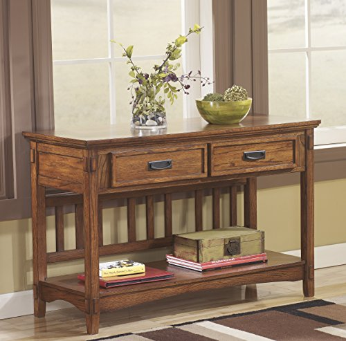 Brown Color Console Sofa Table ()