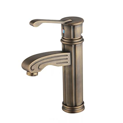 All copper-European faucet antique faucet hot and cold water all ...