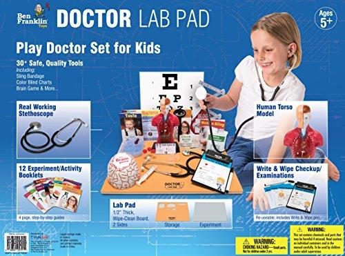Ben Franklin Toys Doctor Lab Pad Biology Kit by Ben Franklin Toys (Image #2)