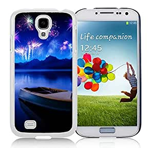 Special Custom Made Samsung S4 TPU Protective Skin Cover Celebrate New Years White Samsung Galaxy S4 i9500 Case 1
