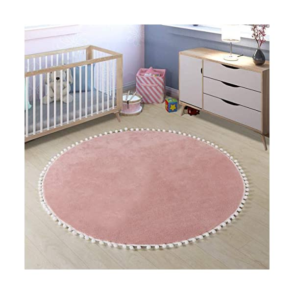 VOSAREA Area Rugs Mat Heart Shape Soft Fashionable Carpet Non-Slip Floor Rug Mat Dekor for Girl Children Bedroom Kitchen Bathroom