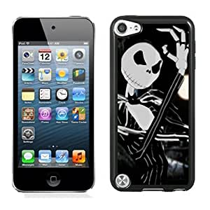 Customized Ipod Touch 5 Case Design with The Nightmare Before Christmas Ipod Touch 5 5th Generation Black Case
