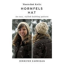 An easy, stylish knitting pattern: the Hornfels Hat