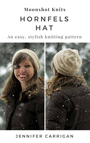 Amazon An Easy Stylish Knitting Pattern The Hornfels Hat