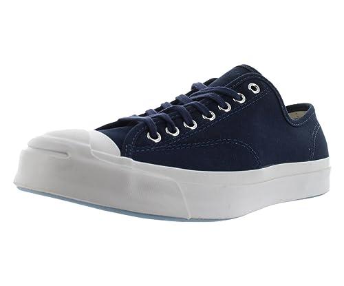 545015c545dc Converse Jack Purcell Signature Ox 149913C Navy White Canvas Ortholite  Unisex Shoes (Size 13