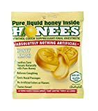 Honees Honey Lemon Menthol Cough Drops, 20 Count Bag