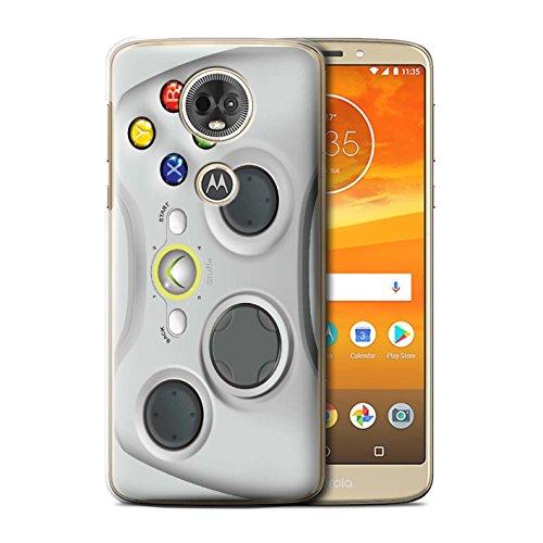 ver for Motorola Moto E5 Plus 2018 / White Xbox 360 Design/Games Console Collection ()