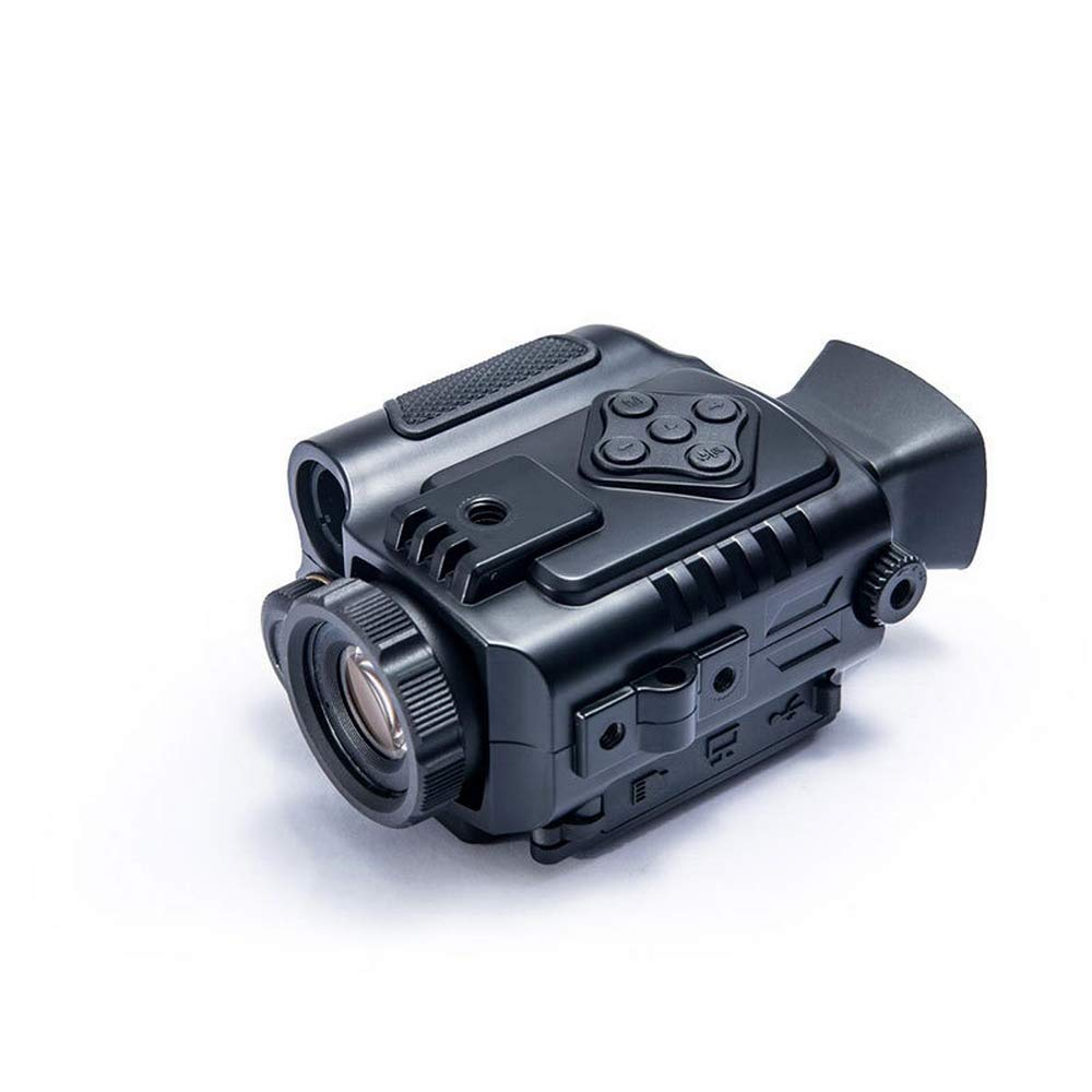 Pengxuehuang NV-600 Ultra Small 1-5X18mm Digital Night Vision Monocular IPX4 Waterproof Nonslip Best Guarder Night Vision Video Recorder by Pengxuehuang
