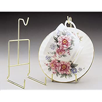 Amazon Banberry Designs Tea Cup And Saucer Stand Pack Of Two Custom Cup And Saucer Display Stands