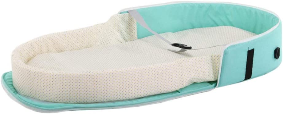 Hankyky tragbare Bassinet Tasche Reisebett f/ür Baby Atmungsaktive S/äugling Faltbare Baby Bett Reise Indoor Bett Rucksack Bett