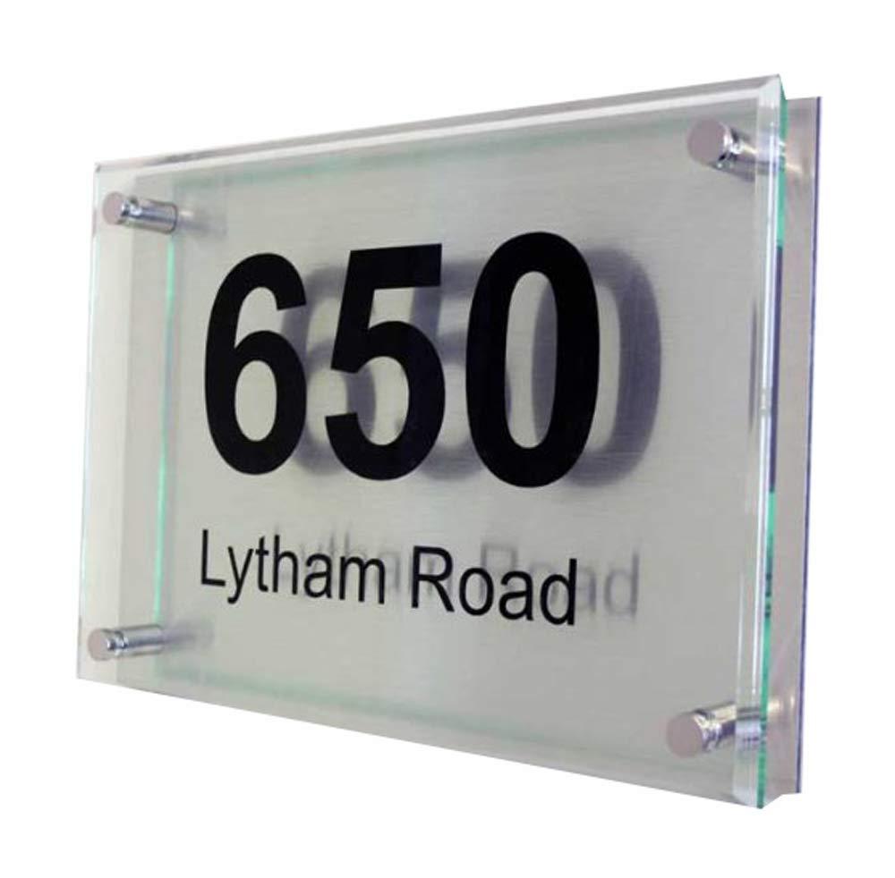Executive Acrylic Address Plaque