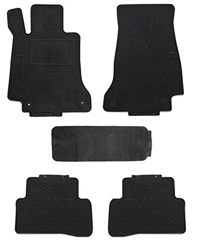 TMB Motorsports All Weather Floor Mats for Mercedes C Class 2015 - Present