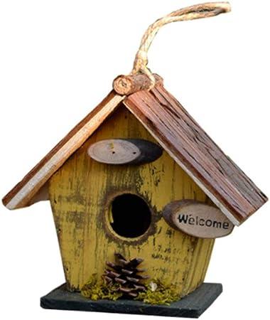 Oiseaux sauvages Nichoir Maison D/'Oiseau Bird Box diverses natures Market Choices
