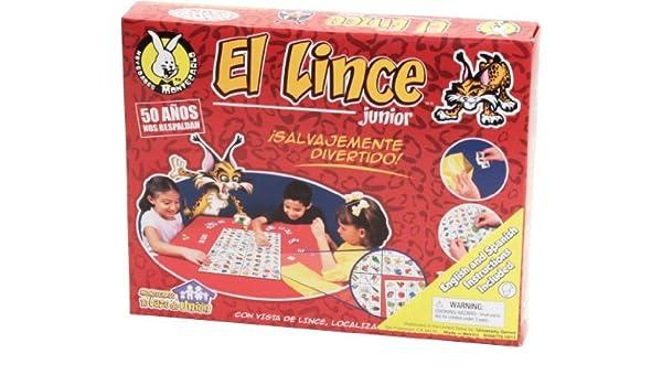 El Lince Jr. Game by Novedades Montecarlo: Amazon.es: Juguetes y ...