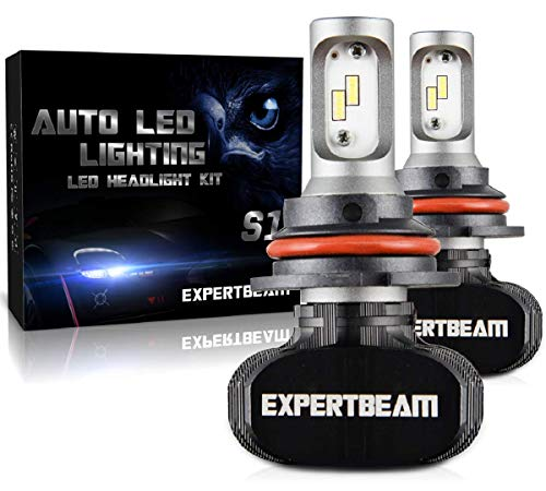 EXPERTBEAM 9004 LED Headlight Bulbs, High Beam, Conversion Kit, 8000Lm 6500K Cool White 24x LED CSP Chip (5-Yr-Warranty)