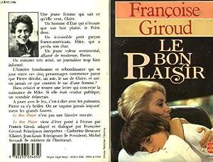 """Afficher """"Le bon plaisir"""""""
