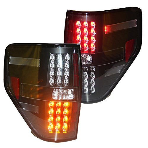 Generic LED Tailllight Back light 2008 to 2014 Year for Ford Raptor F-150 Black Housing