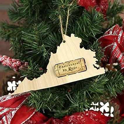 Amazoncom Wooden Shoe Llc Virginia Wine Cork Christmas Tree