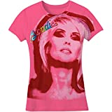 Blondie Portrait Girls Jr Soft tee X-Large Pink