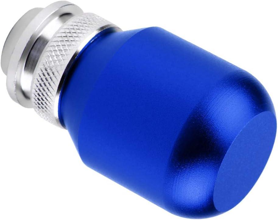 Fydun Gear Shift Knob Head Car Universal Modification Manual Knob Shifter With Red//Purple//Silver//Blue//Titanium//Colored//Black (Optional) Blue