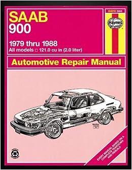 Saab 900 '79 Thru '88 (Haynes Manuals): Haynes: 9781850105671 ...