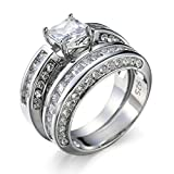 Luxury Women 925 Sterling Silver Infinity Band
