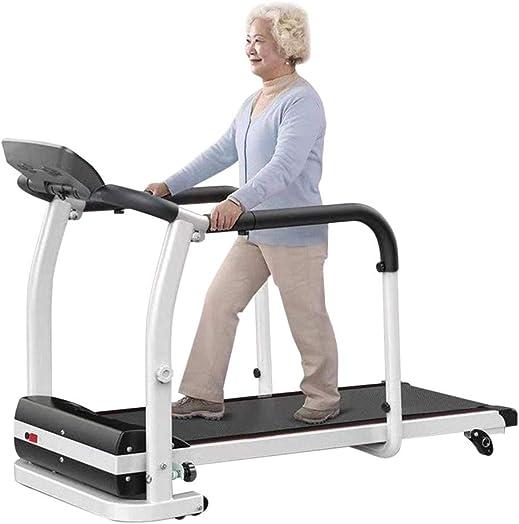 KANGMOON Treadmill Folding Electric Motorized Running Machine Wide Tread Belt 0.5 to 5 MPH Speed Range LCD Display