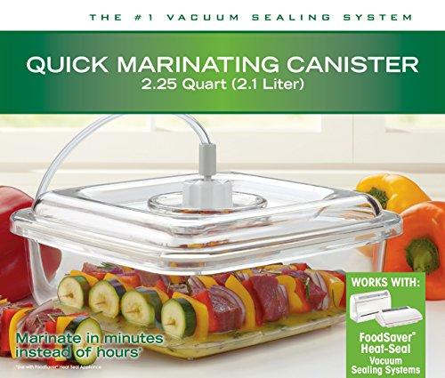 FoodSaver Quick 2.25 quart Marinator, BPA-free