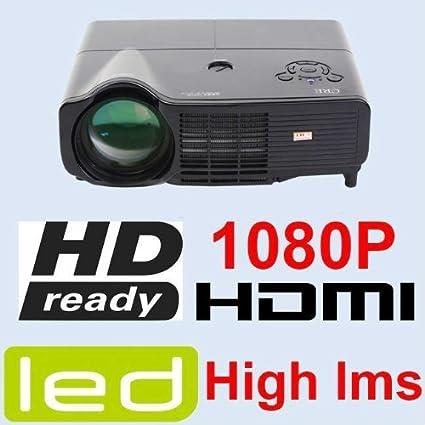 3D nativos de la HD 1080 P proyector LED 3000 Lumens HDMI + USB ...