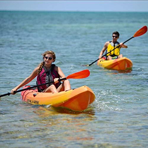 Ocean Kayak Frenzy 1-Person Sit-On-Top Recreational Kayak (Envy, 9 Feet)