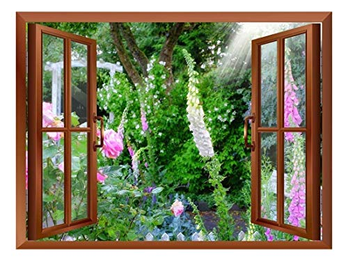 Wild Flowers in Spring Removable Wall Sticker Wall Mural