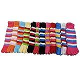 RSG Hosiery Womens Plush Fuzzy Toe Socks Pack