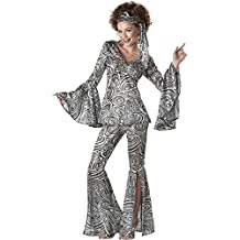 California Costumes womens Plus Size Women's Foxy Lady Disco Costume
