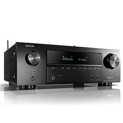 Denon AV Receivers Audio & Video Component Receiver BLACK
