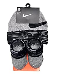 Nike Baby Boy\'s Big Swoosh Graphic Print Hat & Booties Set 0-6M