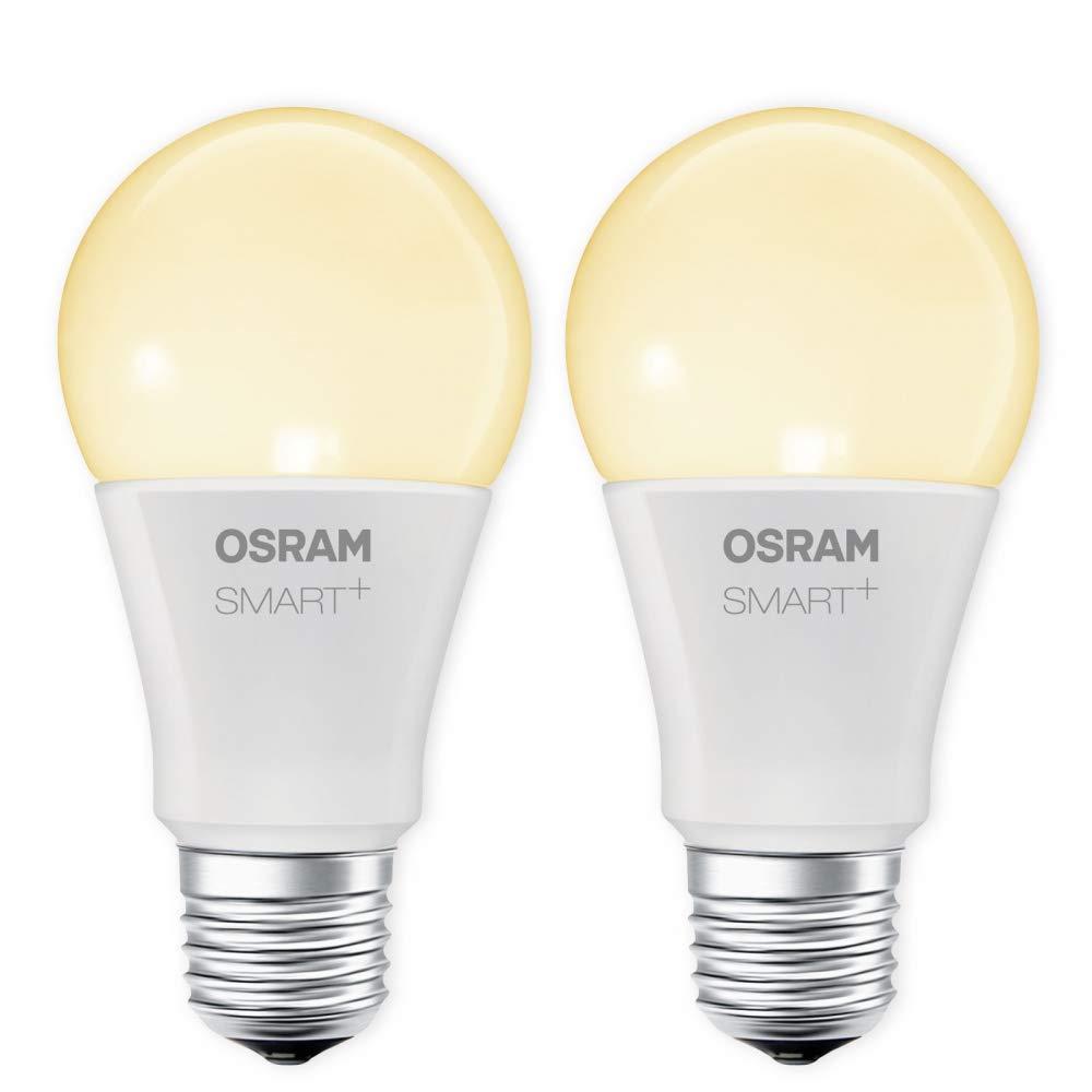 OSRAM SMART+ LED E27 Lampe 9W 60W 2700K warmweiß dimmbar Apple HomeKit Siri Auswahl 2er Set homeguard.de