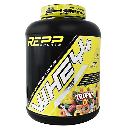 Repp Sports Whey Premium Protein Post-Workout Tropic O s 4 lbs. 1,815g