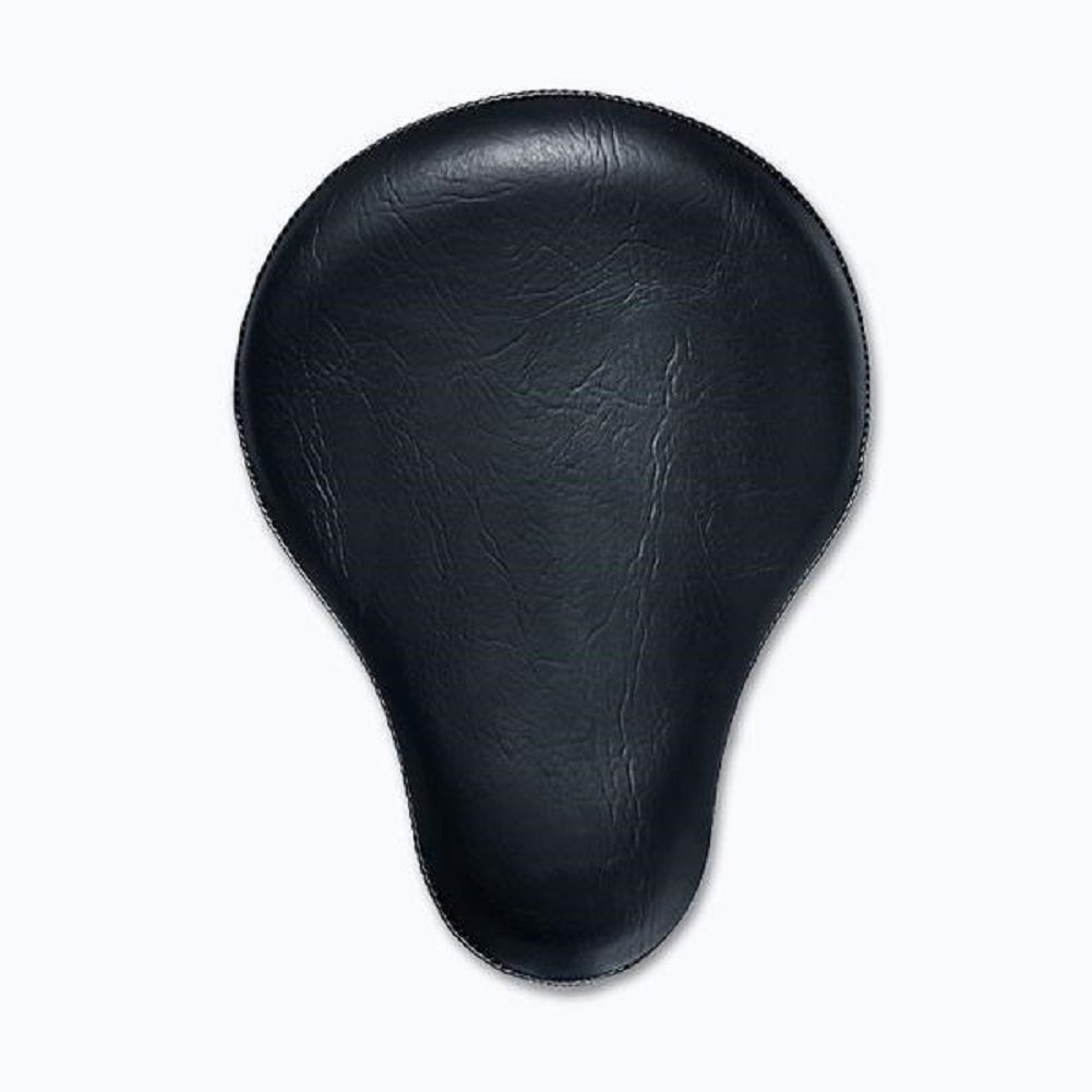 BobberCycle Custom Bobber Seat w/ 16'' Plain Black Seat