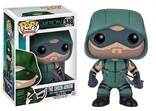 Funko POP Television Arrow: The Green Arrow and Speedy Toy Action Figures - 2 Piece BUNDLE by DC Comics