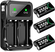 Controller Battery Pack for Xbox One/Xbox Series X|S, Rechargeable Battery Pack for Xbox Series X|S/Xbox One/X