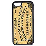 iPhone 6 Case, CellPowerCasesTM Ouija Board Spooky [Flex Series] - iPhone 6 (4.7) Black Case [iPhone 6 (4.7) V1 Black]