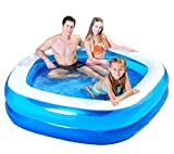 jnwd Inflatable Kiddie Pool Summer Outdoor Family Patio Water Fun Small Backyard Garden Swimming Center & e-Book by jn.Widetrade.