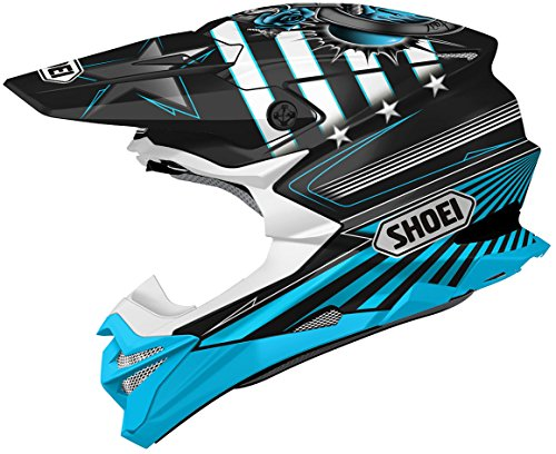 Shoei VFX-EVO Grant 3 Helmet TC-2 (Blue, X-Small)