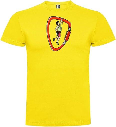 Camiseta Escalada Climber Manga Corta Hombre