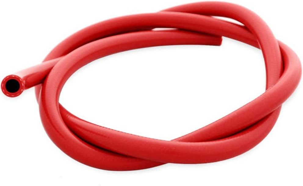 AutoSiliconeHoses 13mm ID Red 1 Metre Length 1 Ply Silicone Radiator Hose