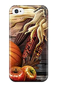 Awesome Case Cover/iphone 4/4s Defender Case Cover(thanksgiving Background ) by Maris's Diary