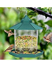 Wild Bird Feeders for Outside Hanging,Bird Seed for Outside Feeders for Garden Yard Outdoor Decoration