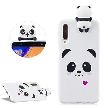 Dessin Animé 3d Panda Silicone Coque Pour Samsung Galaxy A7